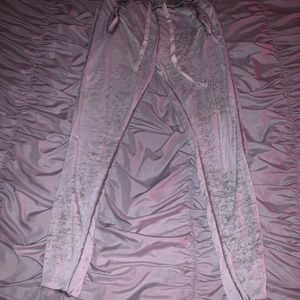 Whitish Green Forever 21 sweatpants!